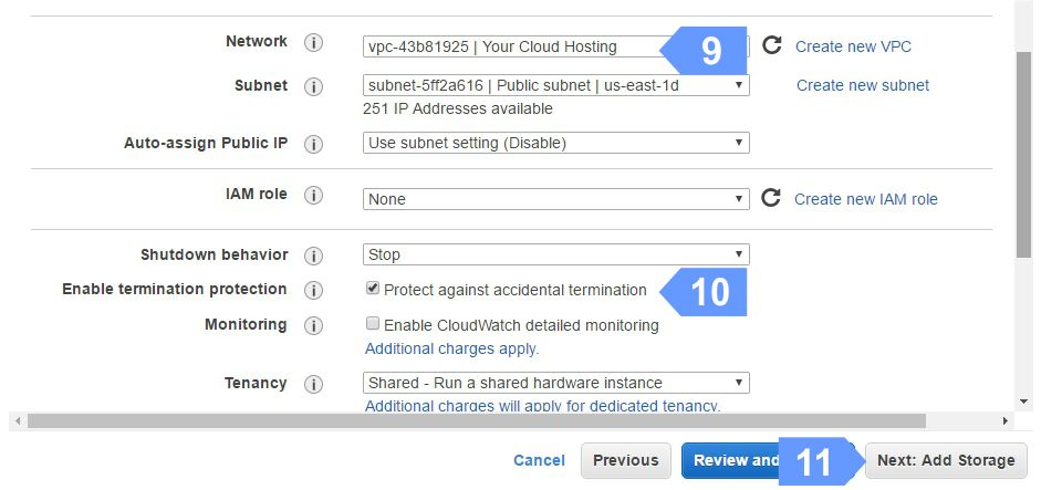 Protect Your Cloud Instance Against Accidental Termination.