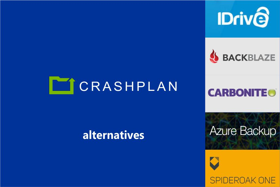 CrashPlan Alternatives for Cloud Backup