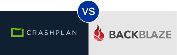CrashPlan vs Backblaze