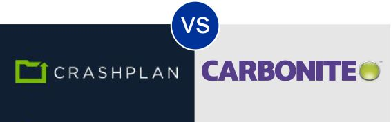 CrashPlan vs Carbonite