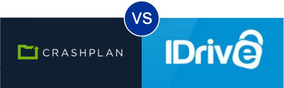 CrashPlan vs iDrive