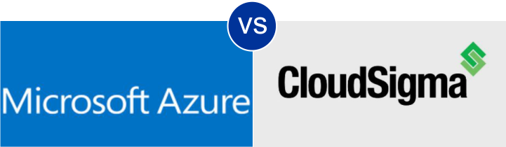 Microsoft Azure VS Cloud Sigma