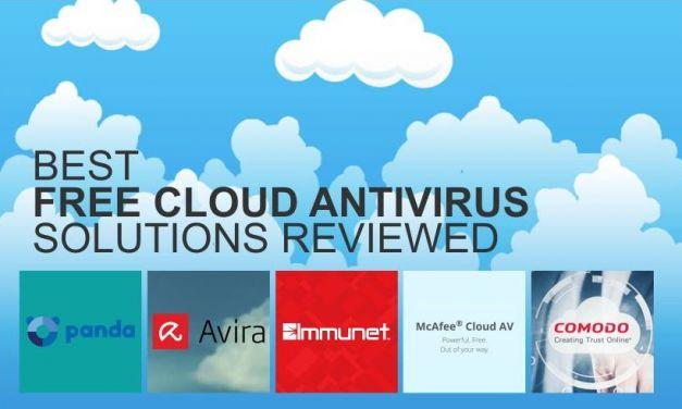 Top 5 Free Cloud Antivirus Solutions Reviewed