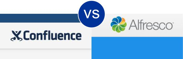 Confluence vs Alfresco