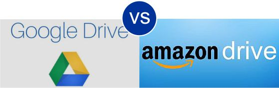 Google Drive vs Amazon Drive