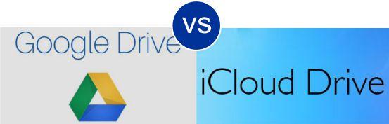 Google Drive vs iCloud Drive