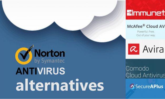 Norton Antivirus Free Cloud Alternatives