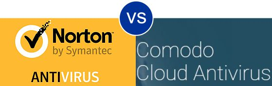 Norton Antivirus vs Comodo Cloud Antivirus