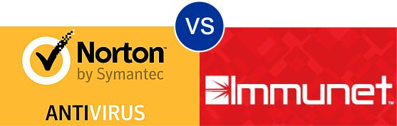 Norton Antivirus vs Immunet Cloud Antivirus