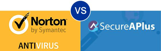 Norton Antivirus vs SecureAPlus