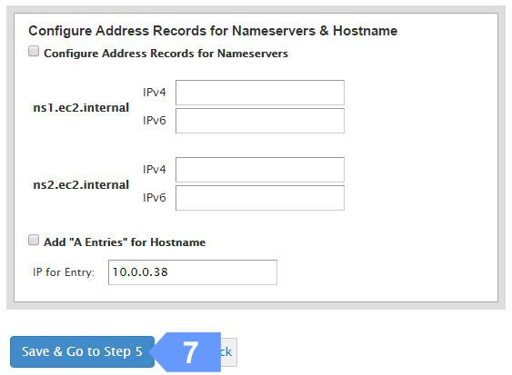 Confirm your cloud server Namesrevers and Hostname