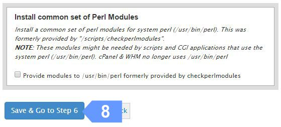 Confirm your cloud server FTP and Perl settings