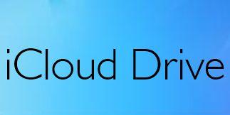 iCloud Drive Cloud Storage