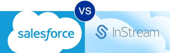 Salesforce vs InStream CRM