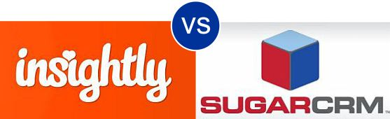 Insightly vs Sugar CRM