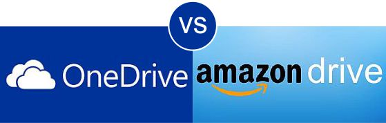 OneDrive vs Amazon Drive