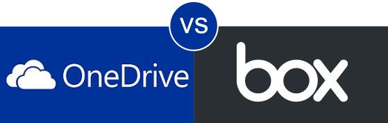 OneDrive vs Box.com