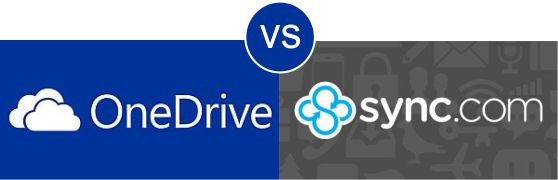 OneDrive vs Sync.com