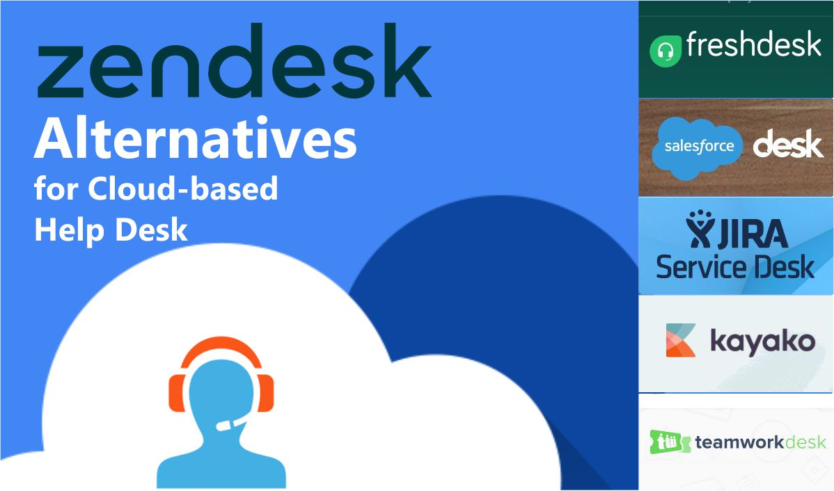 Zendesk Alternatives For Cloud Based Help Desk