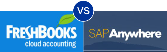FreshBooks vs SAP Anywhere