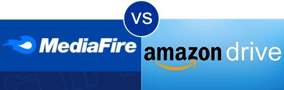 MediaFire vs Amazon Drive