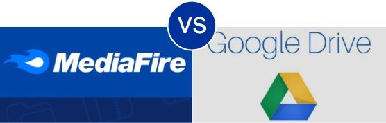MediaFire vs Google Drive