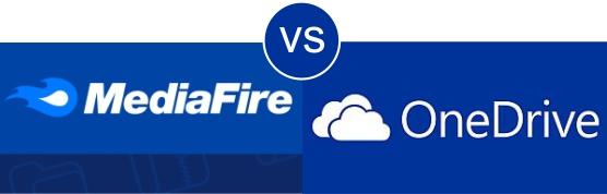 MediaFire vs OneDrive