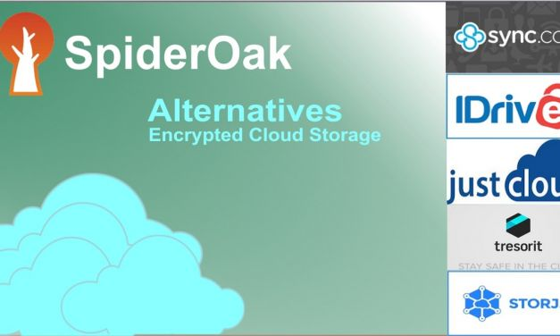 SpiderOak Alternatives for Encrypted Cloud Storage