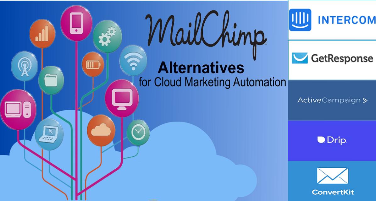 mailchimp alternatives for cloud marketing automation 5 best cloud