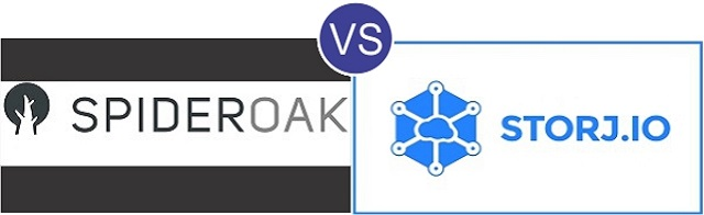 SpiderOak vs Storj.io