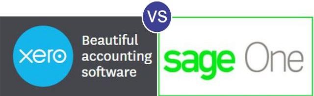 Xero vs SageOne