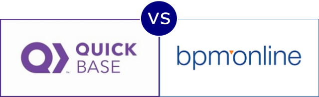 QuickBase vs Bpm'online