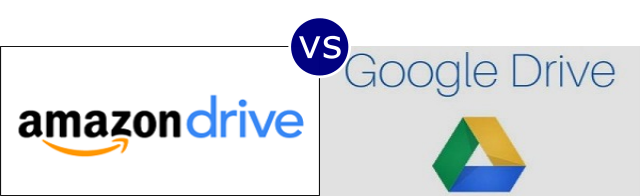 Amazon Drive vs Google Drive
