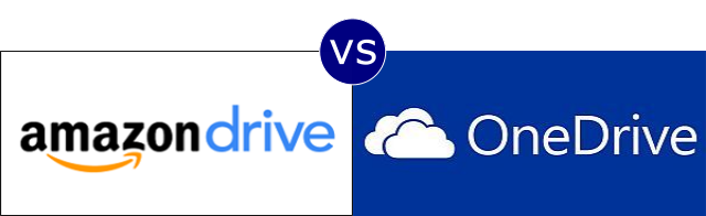 Amazon Drive vs OneDrive