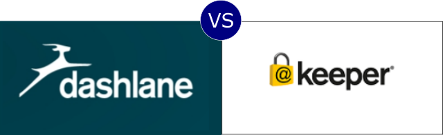 Dashlane vs Keeper