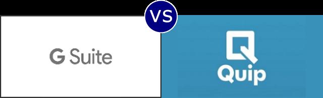 G Suite vs Quip