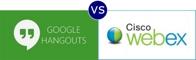 Google Hangouts vs Cisco Webex
