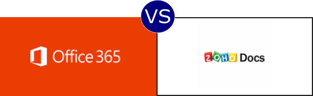 Office 365 vs Zoho Docs