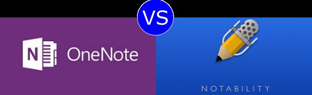 OneNote vs Notability