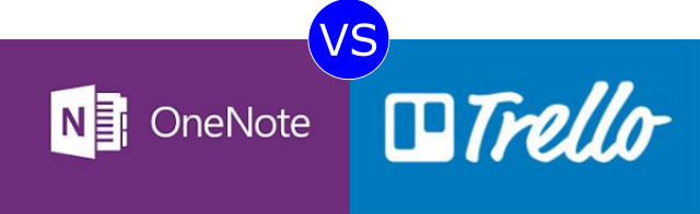 OneNote vs Trello
