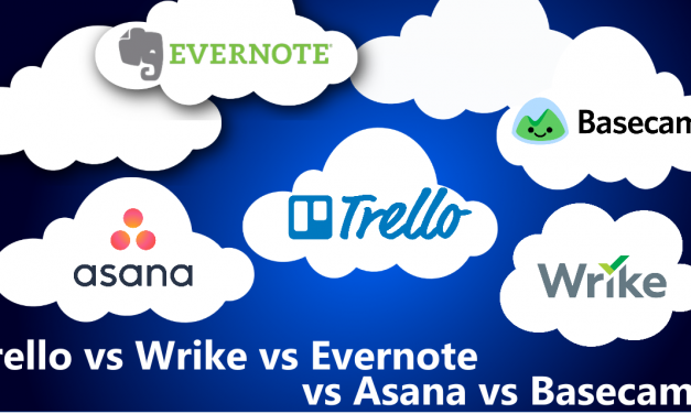 Trello vs Wrike vs Evernote vs Asana vs Basecamp