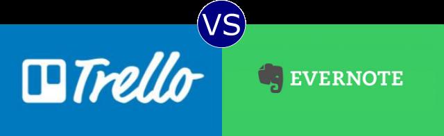 Trello vs Evernote